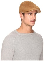 UGG Sheepskin Ivy Hat w/ Leather Trim