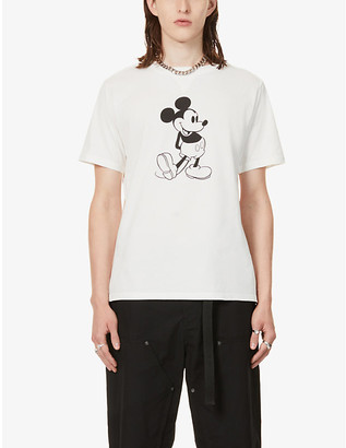The Soloist Mickey Mouse graphic-print cotton-jersey T-shirt