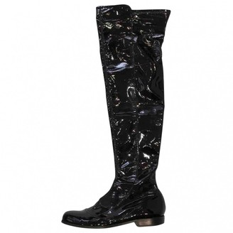 Givenchy Black Patent leather Boots
