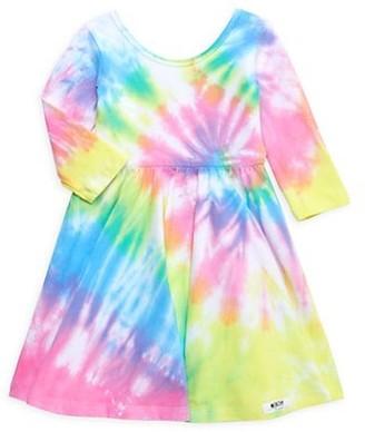 Worthy Threads Little Girl's & Girl's Tie-Dye Twirly Dress