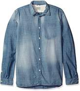 Nudie Jeans Men's Henry Worn Button Down Shirt