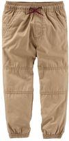 Osh Kosh Boys 4-8 Canvas Jogger Pants