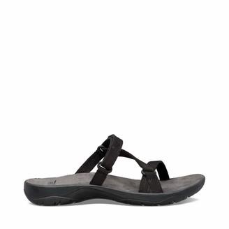 Teva Womens W ELZADA Slide LEA Sandal