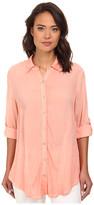 Christin Michaels Hailey Button-Down Shirt