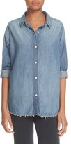 The Great Women's Cotton Blend Chambray Shirt