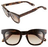 Givenchy Women's 48Mm Sunglasses - Black/ Brown Grey