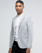 Pull&Bear Blazer In Gray