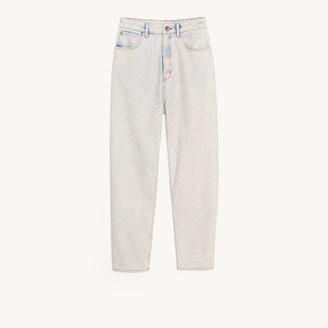 Sandro Zebra pattern jeans
