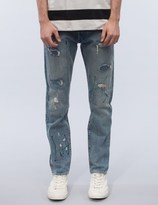 Levi's Woodie Destruction 501 Customized Tapered Jeans