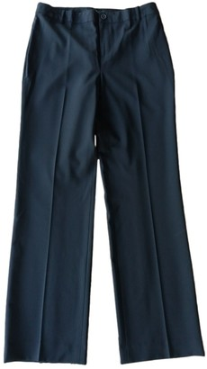 Ralph Lauren Black Wool Trousers
