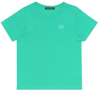 Acne Studios Kids Mini Nash Face cotton T-shirt