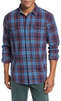 Tailor Vintage Men's Plaid Heavy Twill Shirt