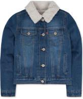 Levi's Faux-Fur Denim Jacket, Toddler Girls