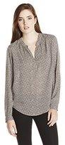 Velvet by Graham & Spencer Women's Print Shirt