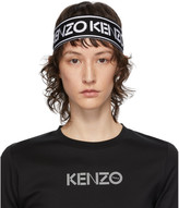 Kenzo Black and White Sport Headband