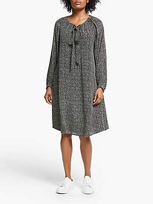 Masai Copenhagen Noor Spot Print Dress, Black