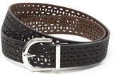 Penningtons Reversible Perforated Faux-Leather Belt