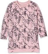 Noppies Girl's G Sweat Ls Ginaa Aop Dress,4 Years