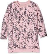 Noppies Girl's G Sweat Ls Ginaa Aop Dress,7 Years