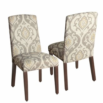 HomePop Curved Back Dining Chair 2-piece Set