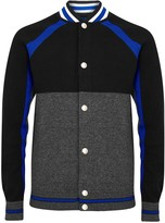 Givenchy Colour-block Wool Varsity Jacket