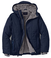 Lands' End Toddler Boys Puffer Jacket-Persian Cobalt