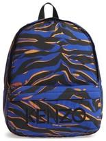 Kenzo Girl's Logo Backpack - Blue