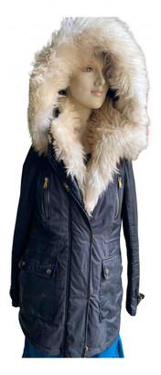 River Island Black Faux fur Coats