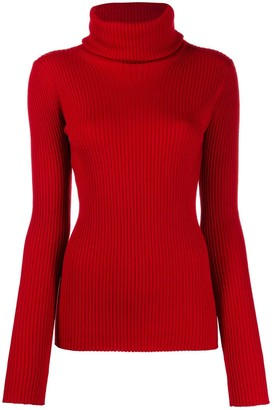 Pringle slim-fit ribbed jumper