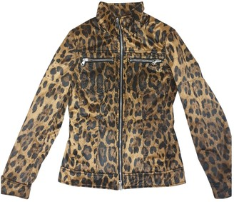 Dolce & Gabbana Camel Synthetic Leather jackets