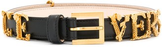 Versace Logo Hardware Belt