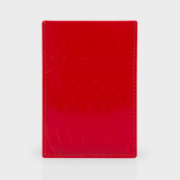 Paul Smith No.9 - Red Patent Leather Credit Card Holder