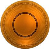Mikasa Italian Countryside Amber Glass Charger Platter
