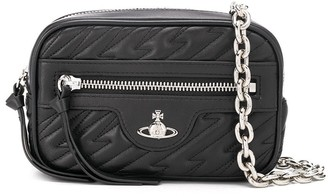 Vivienne Westwood Quilted-Effect Logo Belt Bag