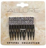 Bed Bath & Beyond Allure Crystal Collection 2-Pack Rhinestone Side Comb