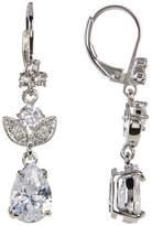 Marchesa Crystal Small Drop Earrings