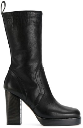 Rick Owens Classic Chunky Boots