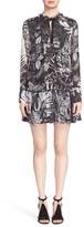 Just Cavalli Women's 'Tattoo' Print Drop Waist Dress