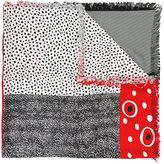 Pierre Louis Mascia Pierre-Louis Mascia - dotted print scarf - women - Silk/Cotton - One Size