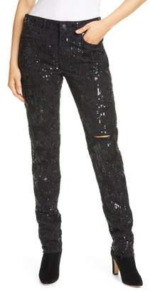 Polo Ralph Lauren Avery Sequin Boyfriend Jeans