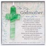 Grandparent Gift Co. The The Grandparent Gift Handmade Glass God Mother Cross Frame