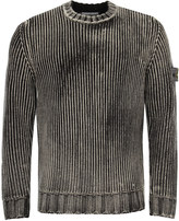 Stone Island Cable Crew Neck Knit 6715513d6 V0029