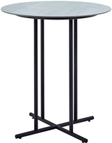 Houseology Gloster Whirl Round Bar Table 90 cm - Ceramic - Black