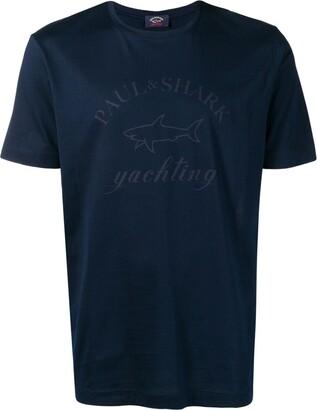 Paul & Shark logo print T-shirt