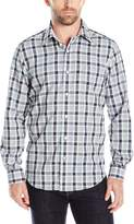 Nautica Men's Classic Fit Wrinkle Resistant Plaid Shirt
