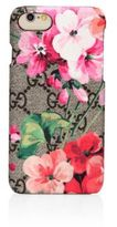 Gucci Blooms-Print GG Supreme Canvas iPhone 7 Case