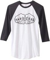 HARDCORESPORT Knuckles Raglan Baseball Tee 8129024