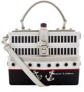 Dolce & Gabbana Ship Padlock Top Handle Bag