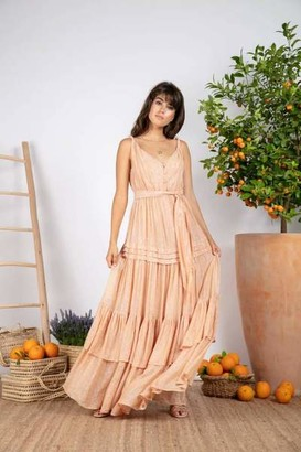 SUNDRESS Tan Calypso Marbella Dress - XS/S
