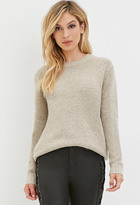 Forever 21 FOREVER 21+ Textured Knit Sweater